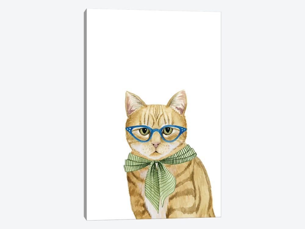 Cool Cat IV by Grace Popp 1-piece Canvas Art Print