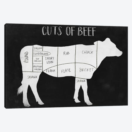Farm to Table I Canvas Print #POP326} by Grace Popp Canvas Wall Art