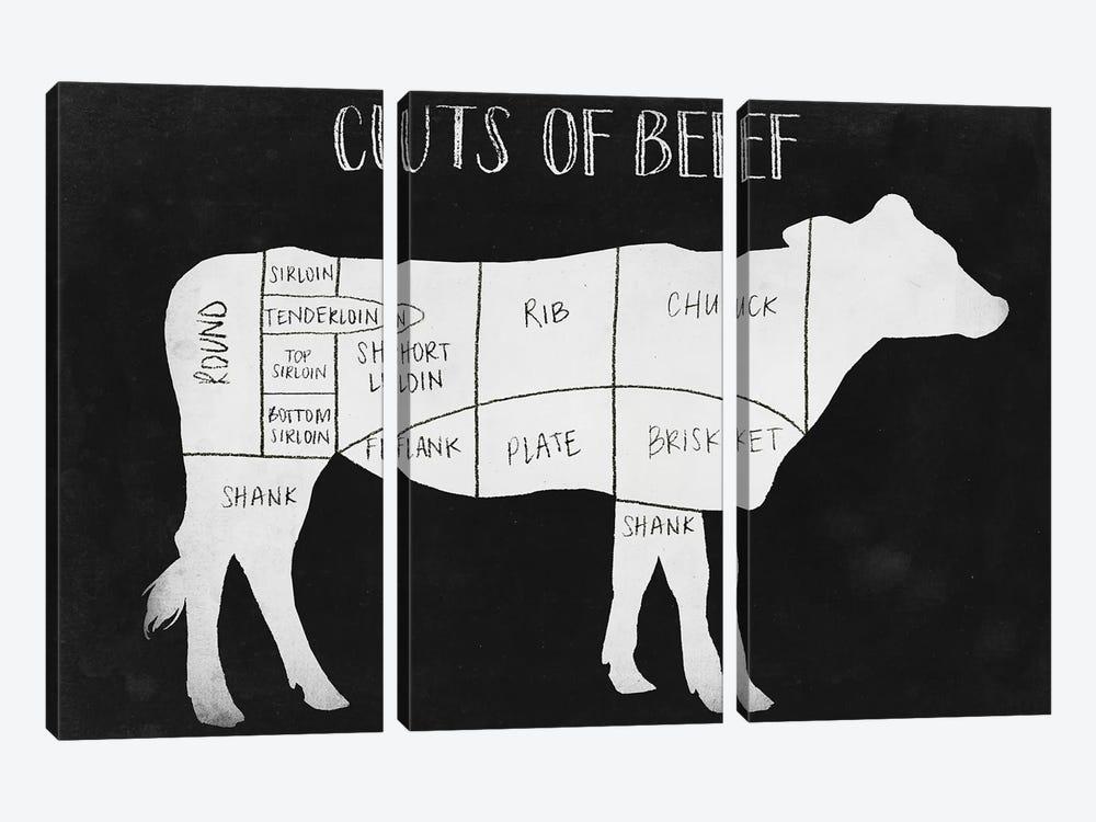 Farm to Table I by Grace Popp 3-piece Canvas Artwork