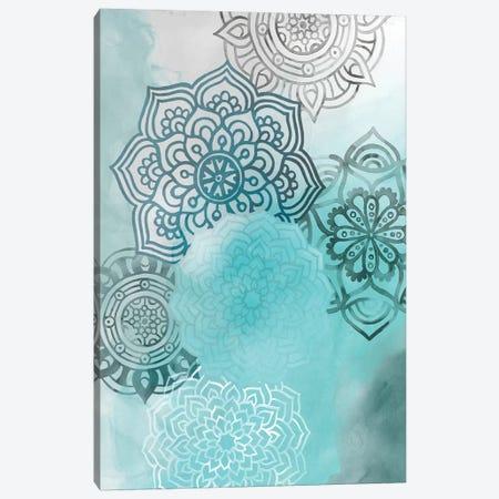 Ink Blot Mandala I Canvas Print #POP340} by Grace Popp Canvas Print
