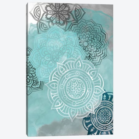 Ink Blot Mandala II Canvas Print #POP341} by Grace Popp Art Print