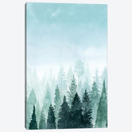 Into the Trees I Canvas Print #POP342} by Grace Popp Canvas Print