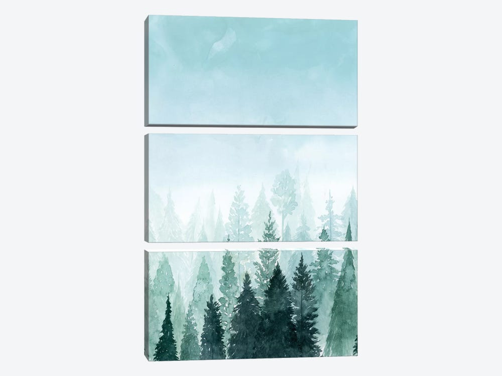Into the Trees I by Grace Popp 3-piece Canvas Wall Art
