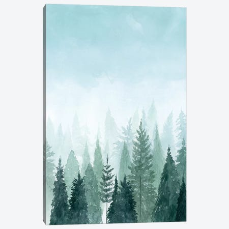 Into the Trees II Canvas Print #POP343} by Grace Popp Canvas Art Print