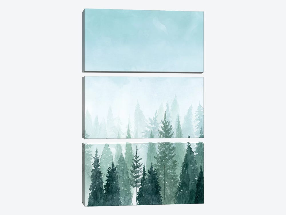 Into the Trees II by Grace Popp 3-piece Canvas Art Print