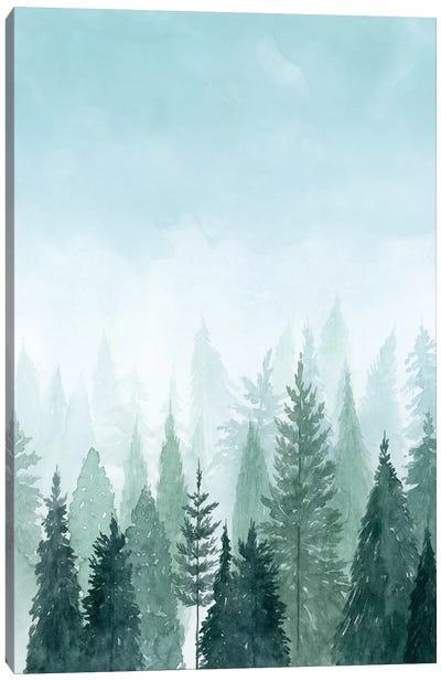 Into the Trees II Canvas Art Print