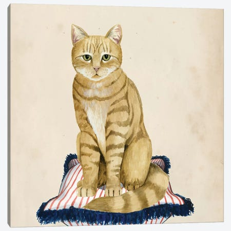 Lady Cat IV Canvas Print #POP347} by Grace Popp Canvas Wall Art