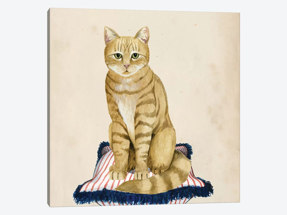 Lady Cat IV 1-piece Art Print