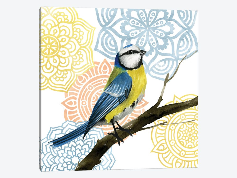 Mandala Bird I by Grace Popp 1-piece Art Print