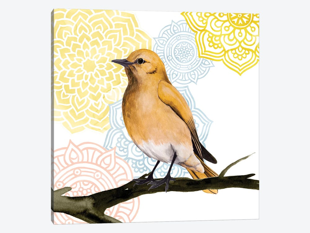 Mandala Bird II by Grace Popp 1-piece Canvas Artwork
