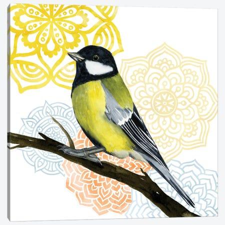 Mandala Bird III Canvas Print #POP352} by Grace Popp Canvas Artwork