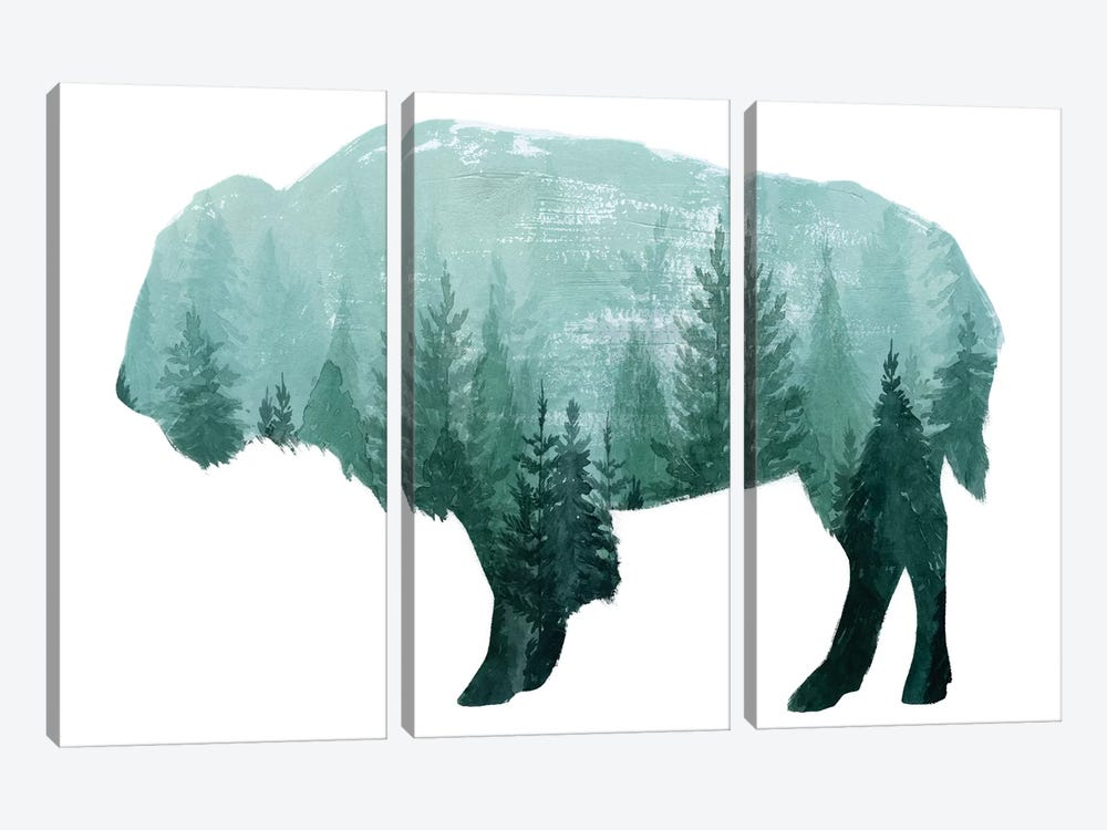 Nature Calling I by Grace Popp 3-piece Canvas Print
