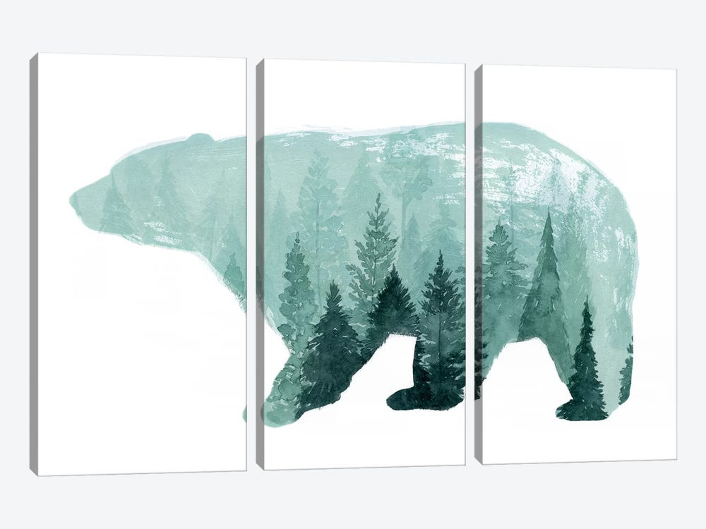 Nature Calling IV by Grace Popp 3-piece Canvas Wall Art