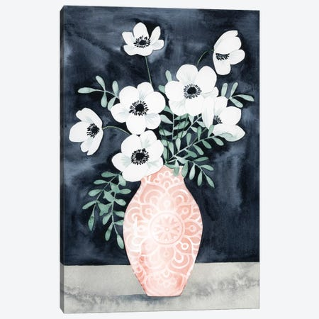 Nighttime Anemones II Canvas Print #POP361} by Grace Popp Art Print