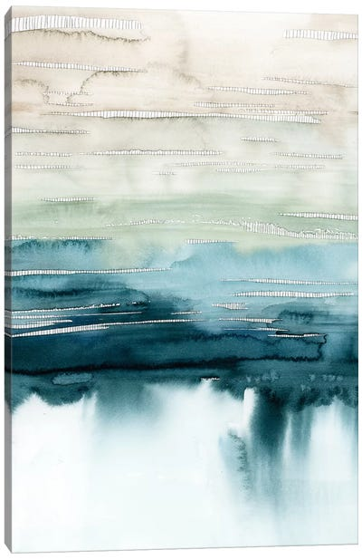 Organic Cascade I Canvas Art Print