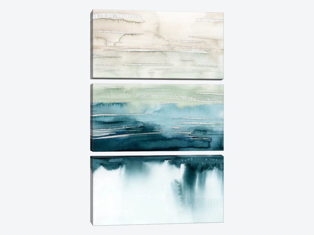 Organic Cascade I by Grace Popp 3-piece Canvas Art