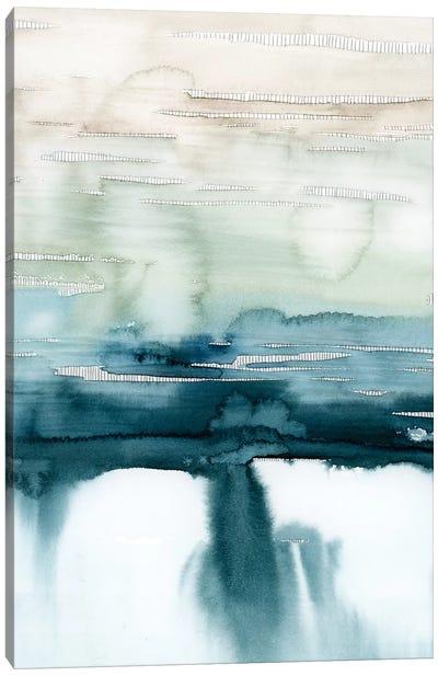 Organic Cascade II Canvas Art Print
