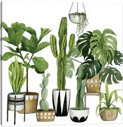 Plant Haven I Canvas Art Print