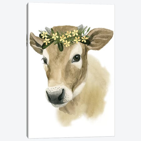 Precious Barnyard I Canvas Print #POP366} by Grace Popp Canvas Wall Art