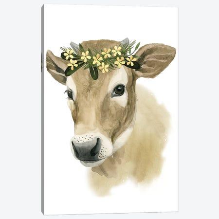Precious Barnyard I Canvas Print #POP366} by Grace Popp Canvas Wall Art