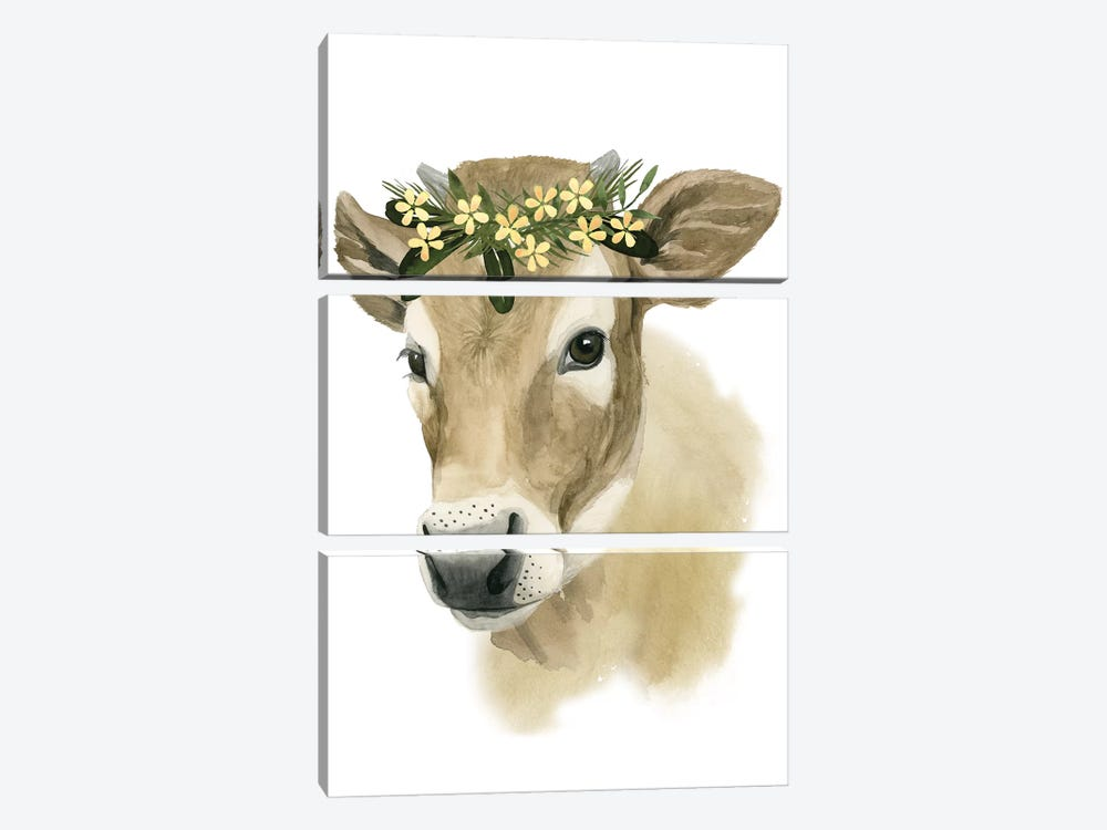 Precious Barnyard I by Grace Popp 3-piece Canvas Art