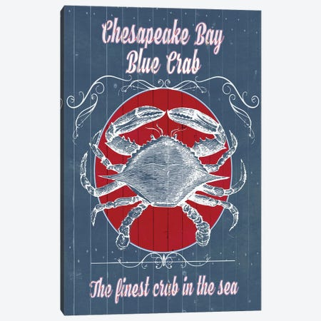 Seafood Co. I Canvas Print #POP372} by Grace Popp Canvas Art