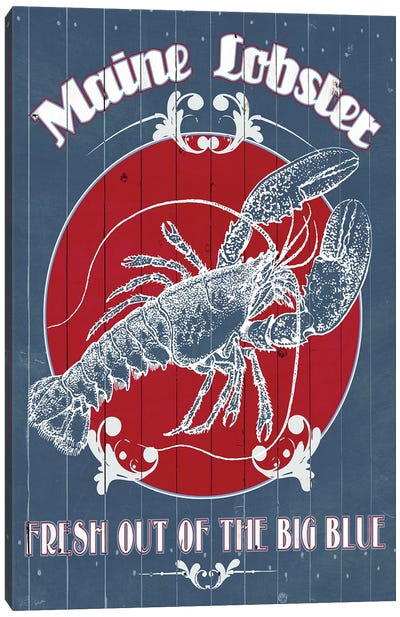 Seafood Co. II Canvas Art Print