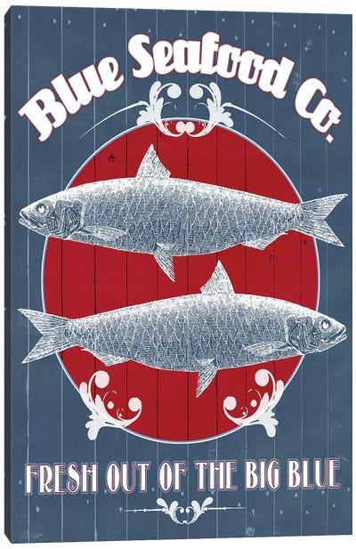 Seafood Co. IV Canvas Art Print