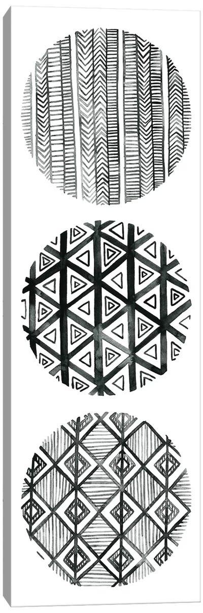 Tribal Pattern III Canvas Art Print