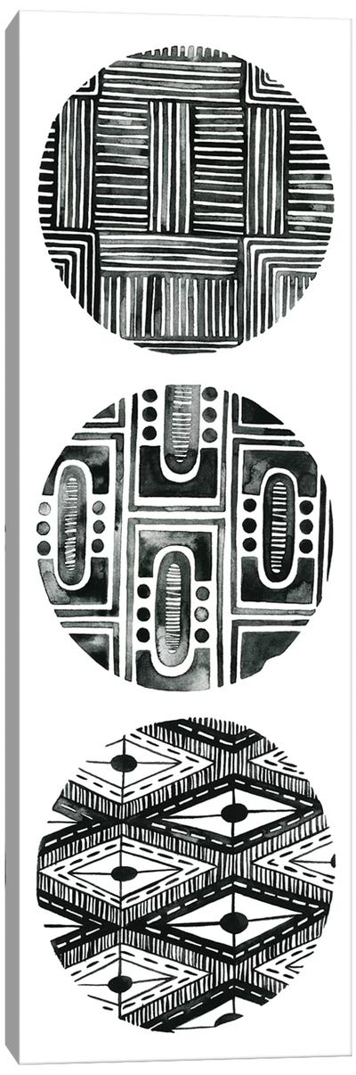 Tribal Pattern IV Canvas Art Print