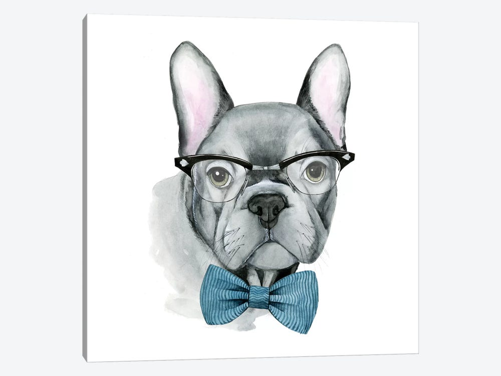 Vintage Pup IV by Grace Popp 1-piece Canvas Wall Art