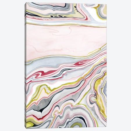 Watercolor Marbling I Canvas Print #POP400} by Grace Popp Canvas Art