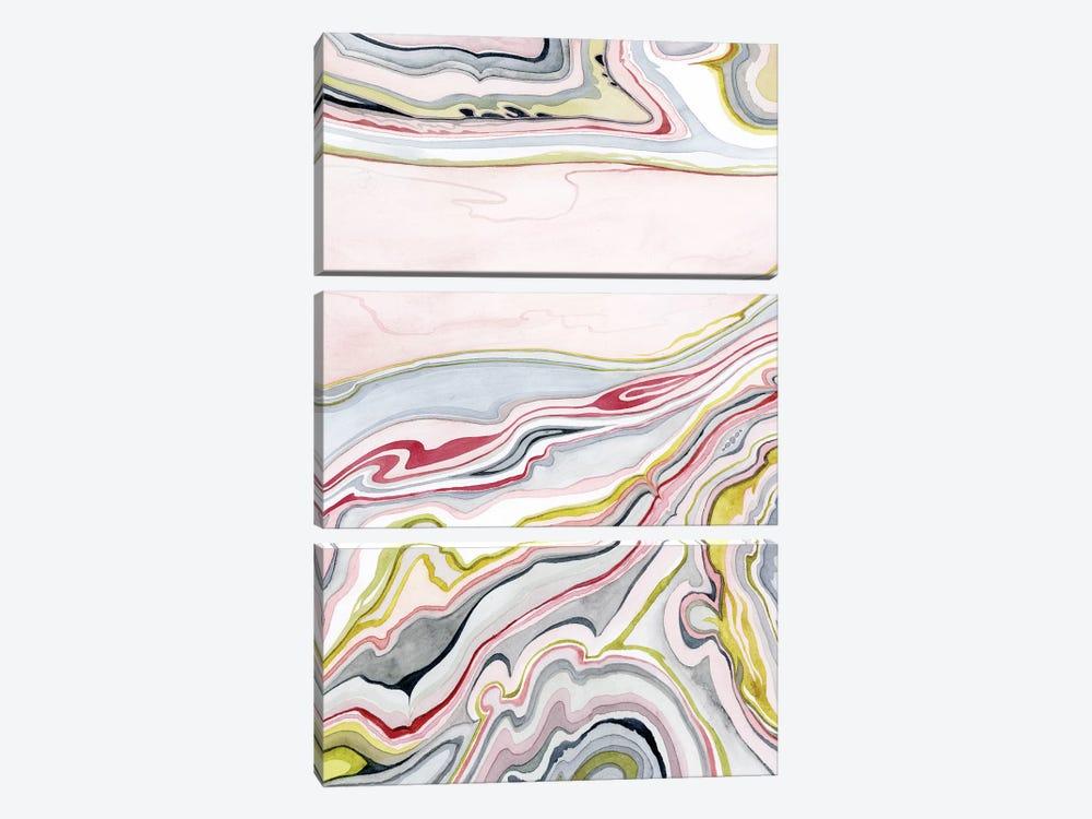 Watercolor Marbling I by Grace Popp 3-piece Art Print