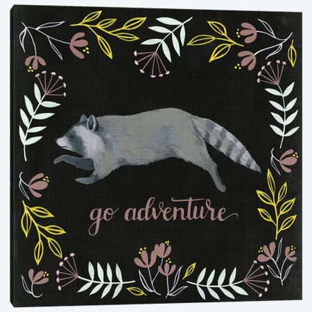Woodland Adventure III Canvas Print #POP408} by Grace Popp Canvas Artwork