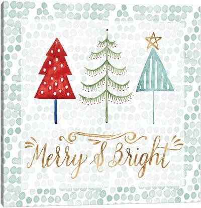 Christmas Tree Whimsy III Canvas Art Print