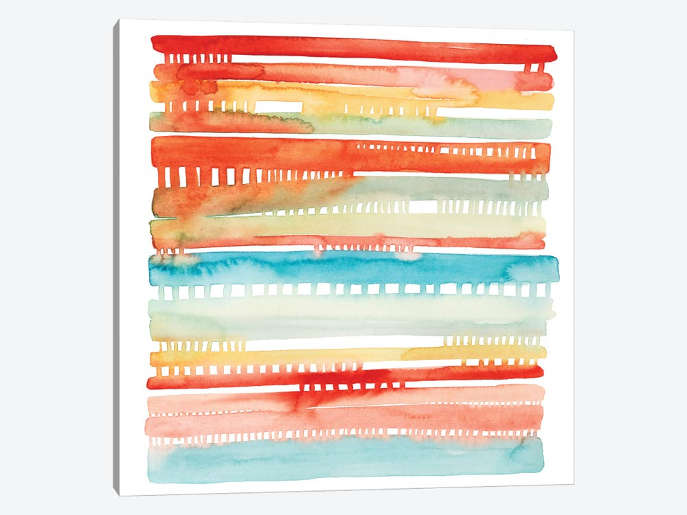 Connected Lines I by Grace Popp 1-piece Canvas Art