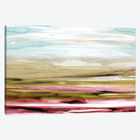 Solar Plains I Canvas Print #POP437} by Grace Popp Canvas Artwork
