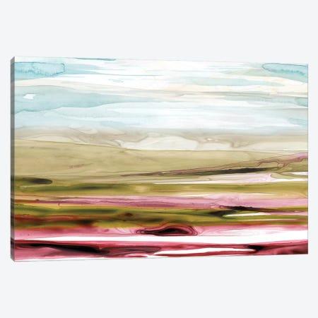 Solar Plains I Canvas Print #POP437} by Grace Popp Canvas Artwork