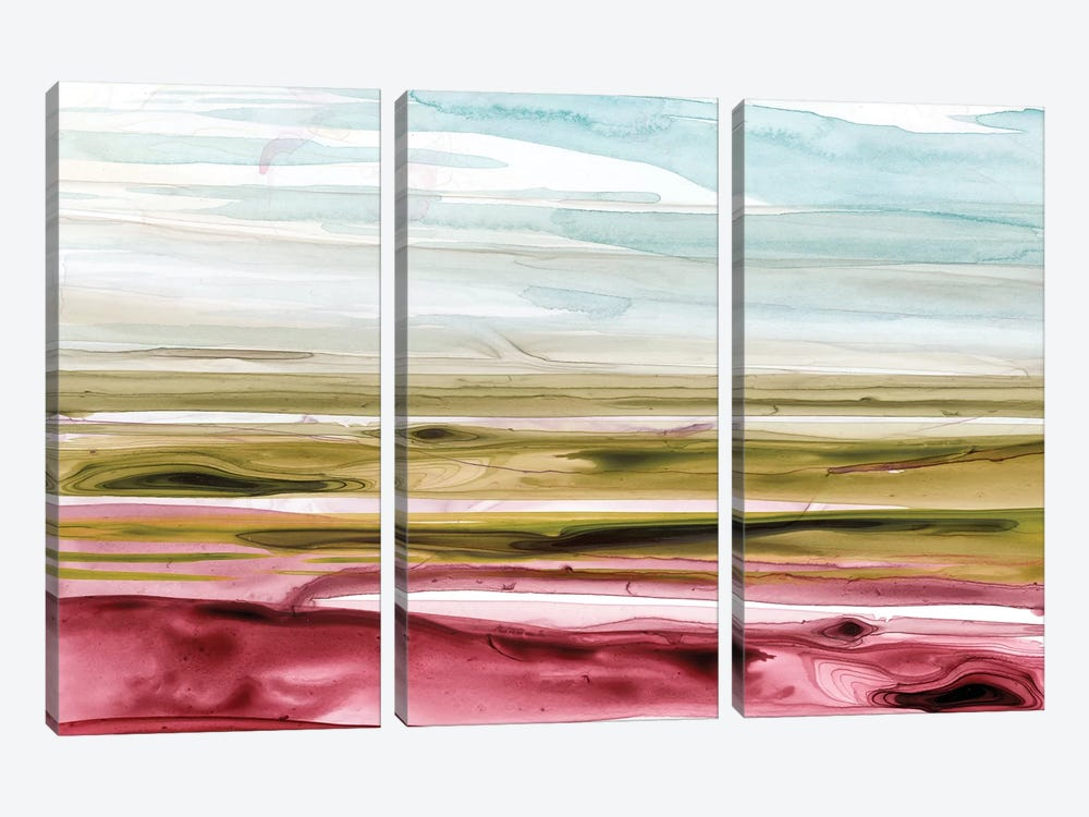 Solar Plains II by Grace Popp 3-piece Canvas Artwork