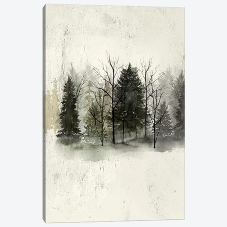 Textured Treeline I Canvas Print #POP439} by Grace Popp Canvas Print