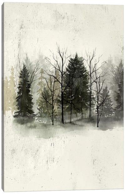 Textured Treeline I Canvas Art Print