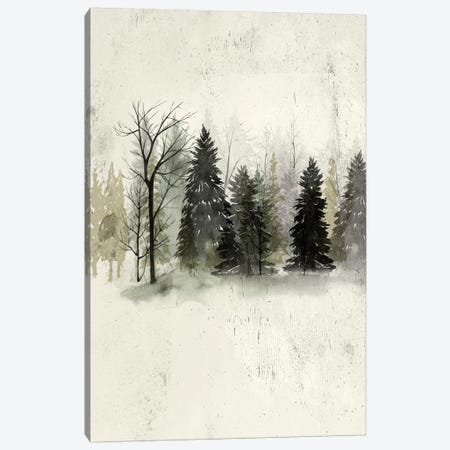 Textured Treeline II Canvas Print #POP440} by Grace Popp Canvas Art