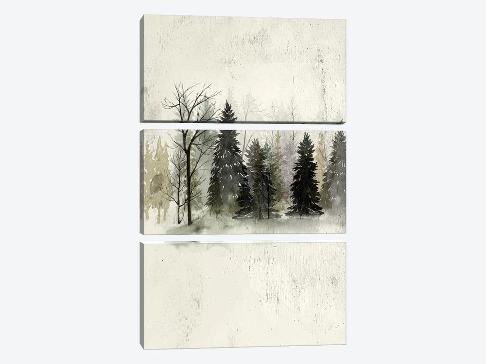 Textured Treeline II by Grace Popp 3-piece Art Print