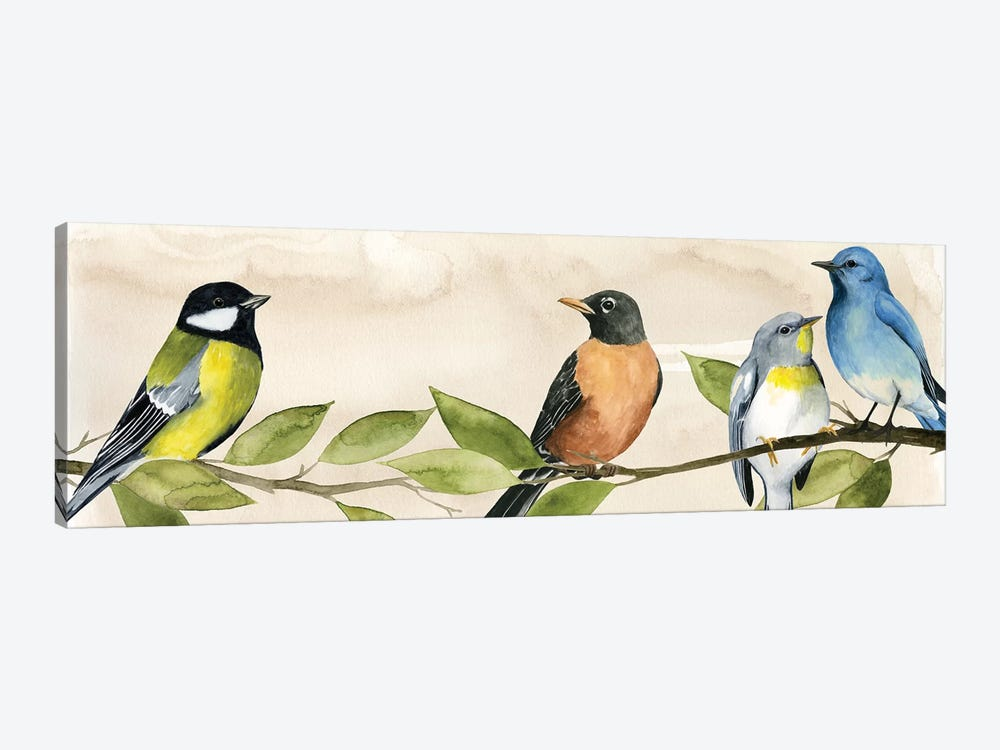 Treetop Gathering I by Grace Popp 1-piece Canvas Art