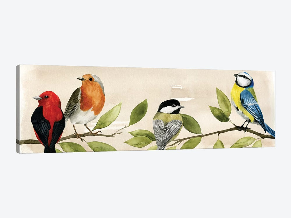 Treetop Gathering II by Grace Popp 1-piece Canvas Art Print