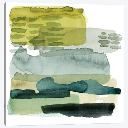 Verdant Stratum II Canvas Print #POP444} by Grace Popp Canvas Art Print