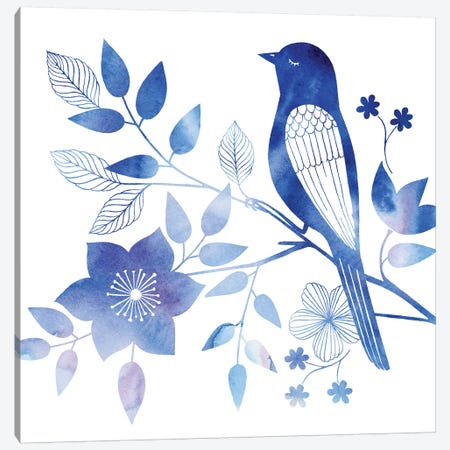 Avian Twilight I Canvas Print #POP455} by Grace Popp Canvas Wall Art