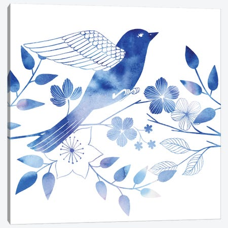 Avian Twilight II Canvas Print #POP456} by Grace Popp Canvas Art