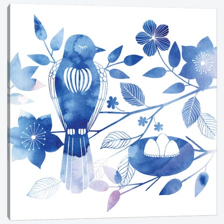 Avian Twilight III Canvas Print #POP457} by Grace Popp Canvas Art