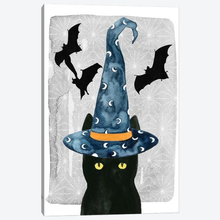 Black Cat I Canvas Print #POP464} by Grace Popp Art Print
